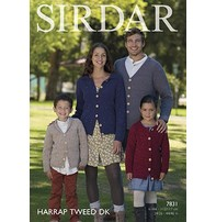 Sirdar Sirdar Design - Harrap Tweed Dk Jackets & Sweaters For The Whole Family