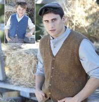 Sirdar Sirdar Design - Harrap Tweed Vest For Men Or Boys