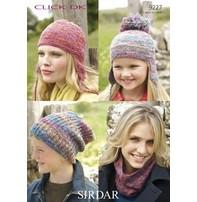 Sirdar Sirdar Design - Hats And Neck Warmer In Dk Yarn