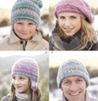Sirdar Sirdar Design - Hats For The Family In Sirdar Crofter Dk