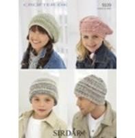 Sirdar Sirdar Design - Hats In Crofter Dk