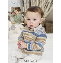 Sirdar Sirdar Design - Patterned Sweater For Little Ones
