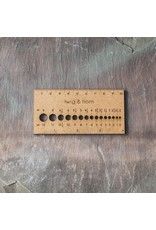 Twig & Horn Small Gauge Ruler