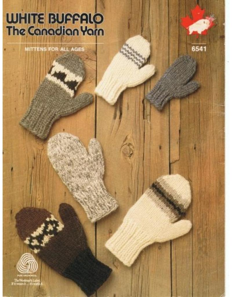 Art of Yarn Vintage Pattern* - Cowichan Style Mitts (PDF)