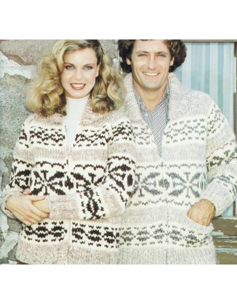 Art of Yarn Vintage Pattern* - Cowichan Style Snowflake Design (PDF)