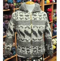 Art of Yarn Vintage Pattern* - Cowichan Style Sweater Style Adult (PDF)