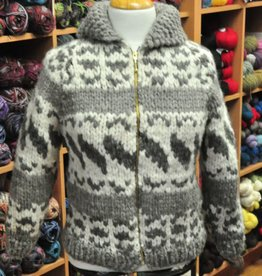 Art of Yarn Vintage Pattern* - Cowichan Style Sweater Youth Sizes (PDF)