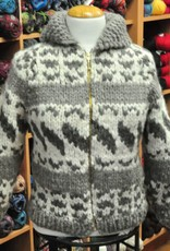 Art of Yarn Vintage Pattern* - Cowichan Sweater Style 6-R (Adult Sizes) (PDF)