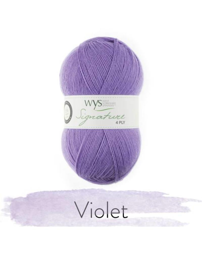 West Yorkshire Spinner West Yorkshire Spinners Florist Collection - Violet