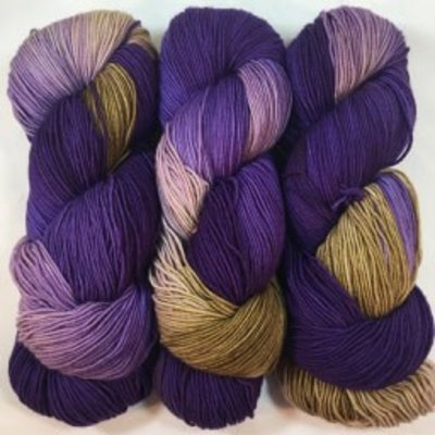 Fleece Artist Fleece Artist Cottage Socks - Iris