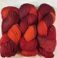 Fleece Artist Fleece Artist Tree Wool - Sangria