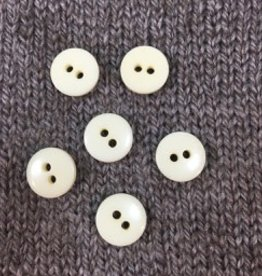 "Art of Yarn *Buttons - Polyamide, cream. 1/2"", 1.5 cm"