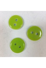 "Buttons, Etc. *Buttons - Lookout, Lime, 1"", 2.25cm"