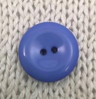 """Buttons, Etc. *Buttons - Pastille, Blue, 1"""", 2.25cm"""