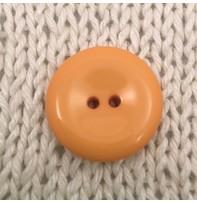 """Buttons, Etc. *Buttons - Pastille, Mango, 1"""", 2.25cm"""