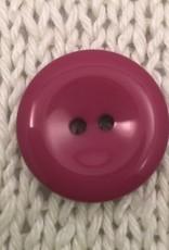 """Buttons, Etc. *Buttons - Pastille, Plum, 1"""", 2.25cm"""