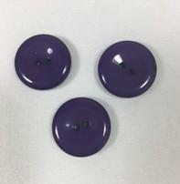 """Buttons, Etc. *Buttons - Purple Pastille, 1"""", 2.5cm"""