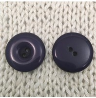 """Buttons, Etc. *Buttons - Gobbet, Blueberry, 1"""", 2.5cm"""