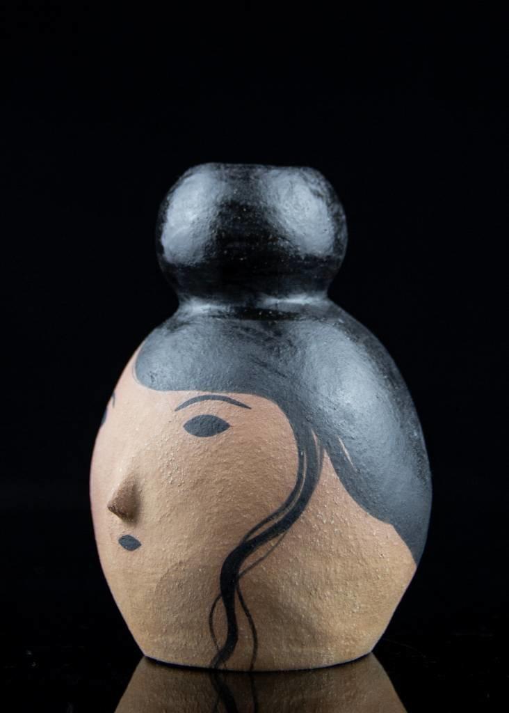 Rami Kim Girl With High Bun Bud Vase - Asrai Garden-6184