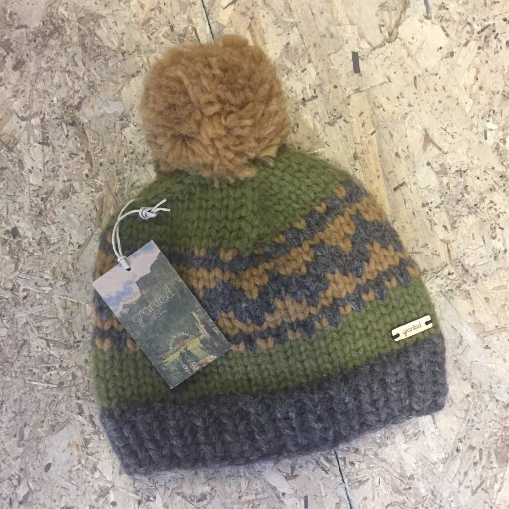 Granted / Day Granted - Pom Toque (Green)