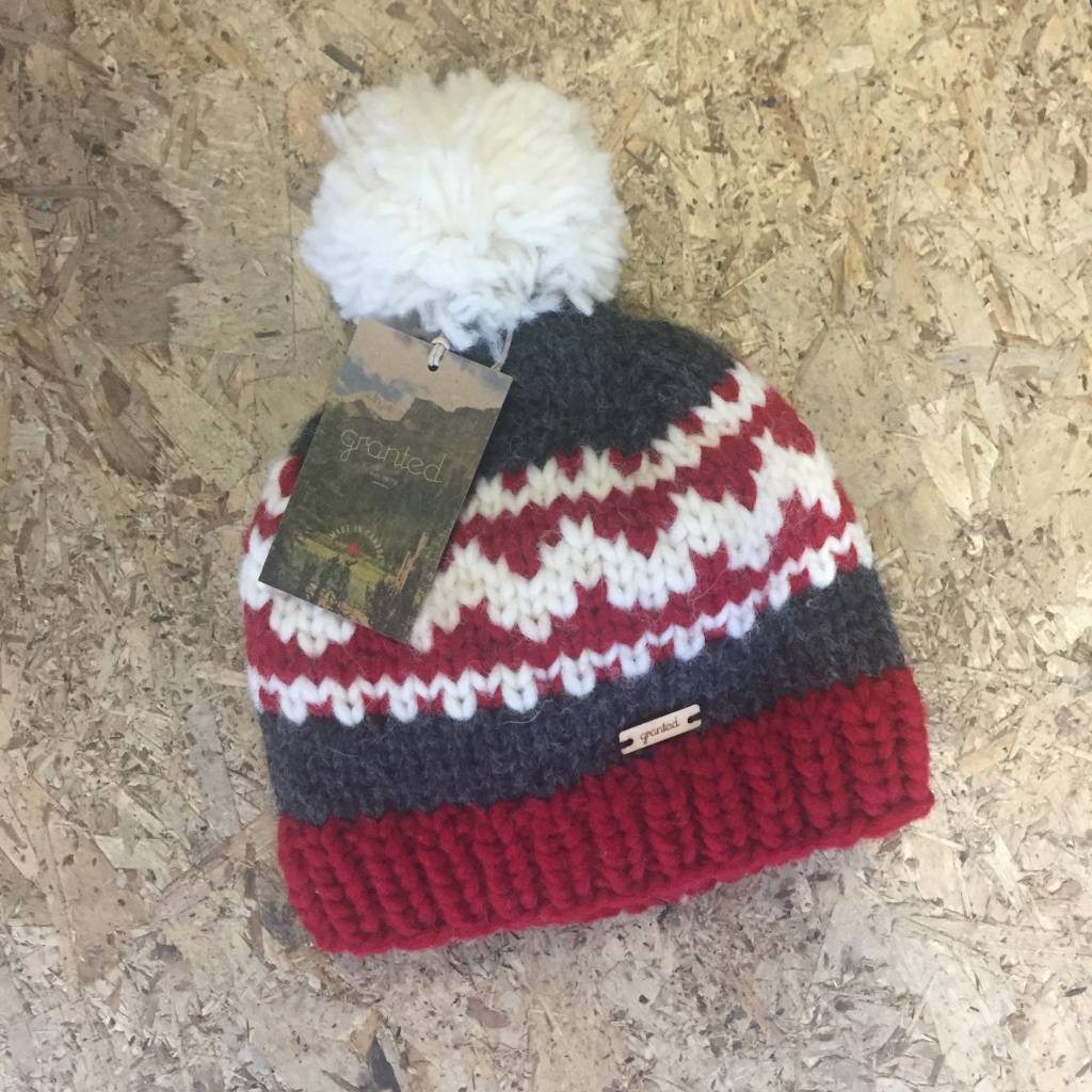 Granted / Day Granted - Pom Toque (Red)