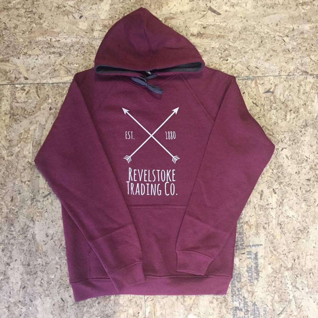 Revelstoke Trading Post Revelstoke - Arrows Unisex Hood