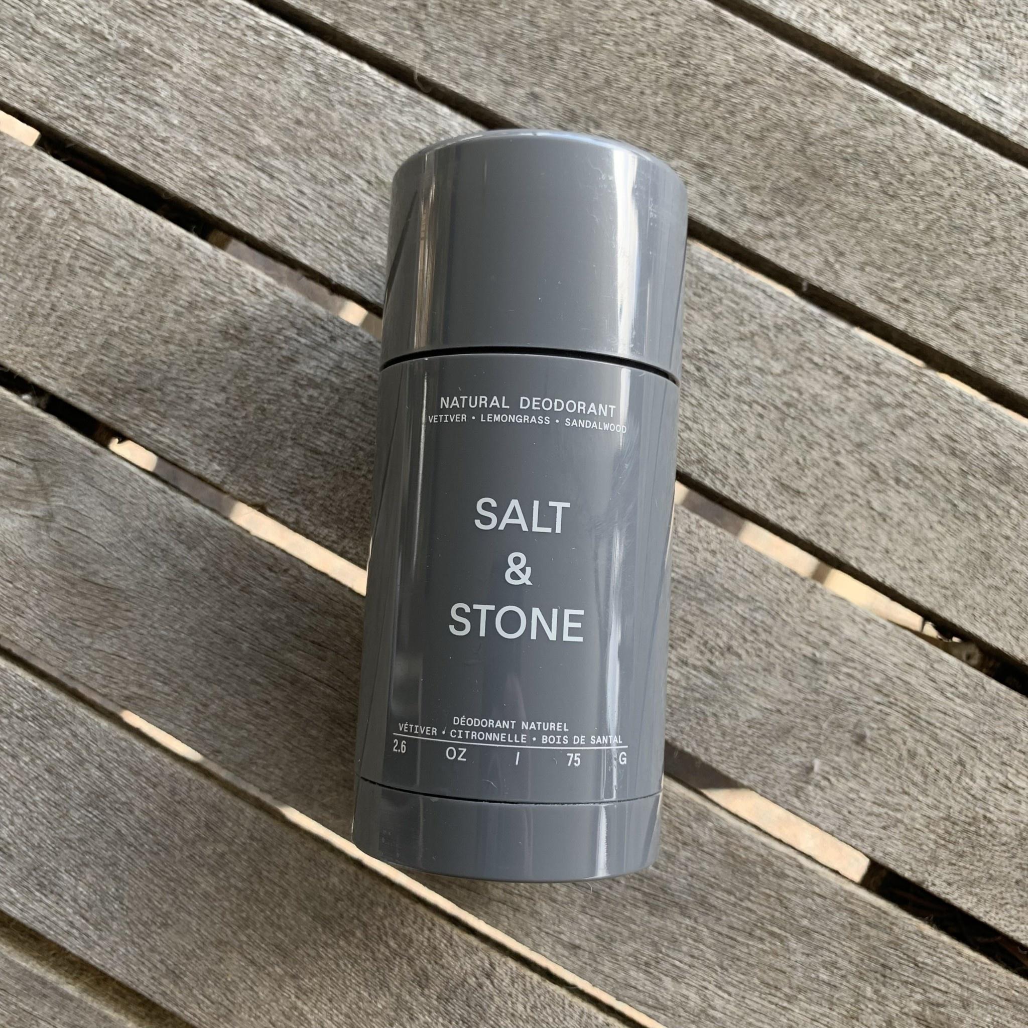 Salt & Stone Salt&Stone - Vetiver & Sandalwood Deodorant