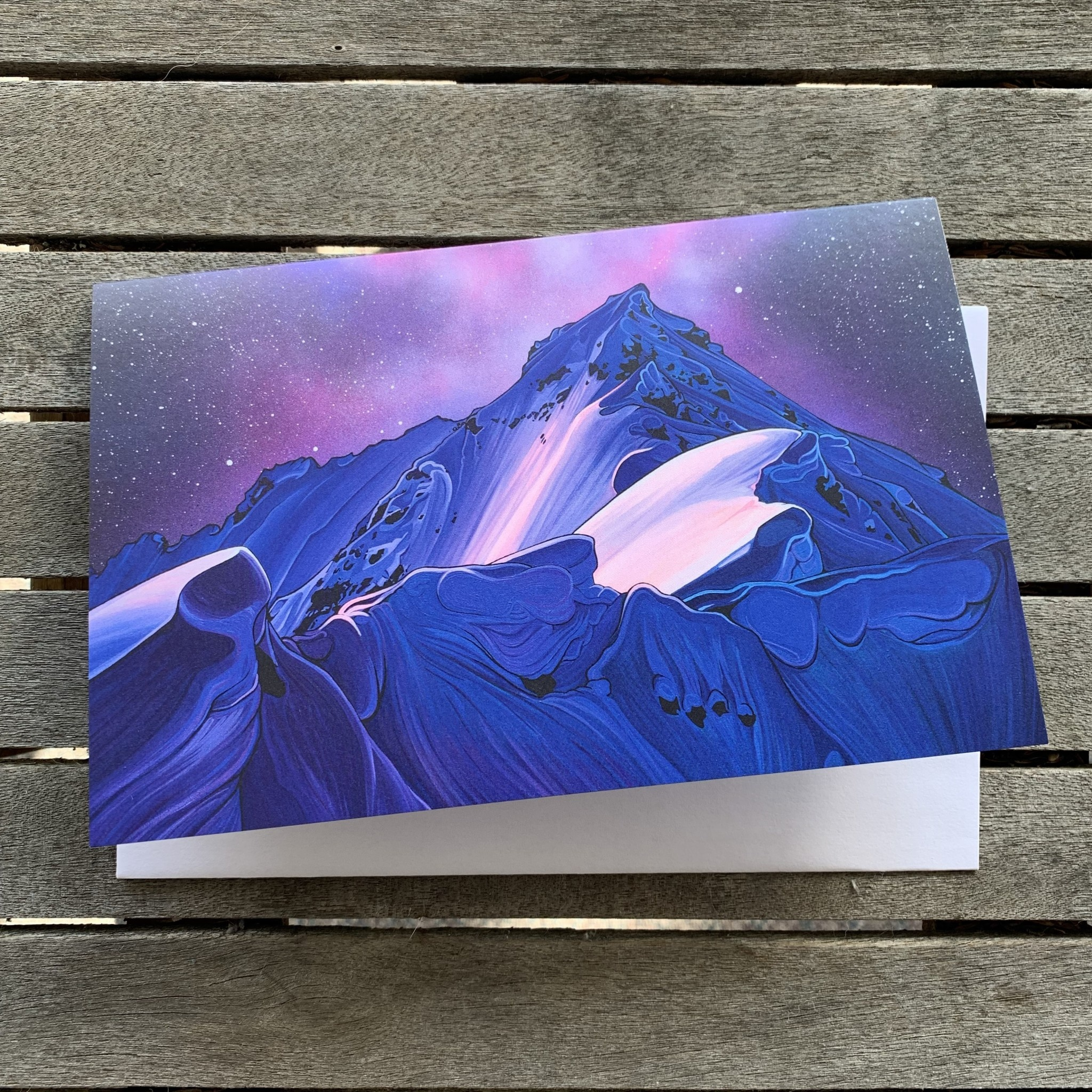 Hayley Stewart Art Hayley Stewart - Land of Firt Descents Card