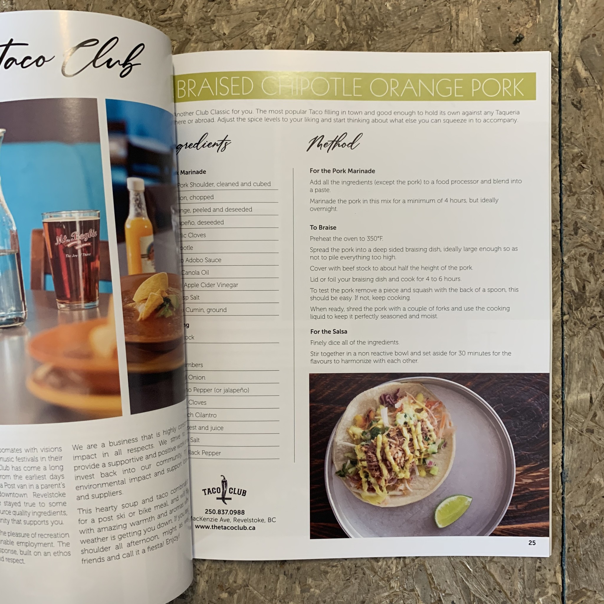 The Hungry Toque Cookbook The Hungry Toque Cookbook