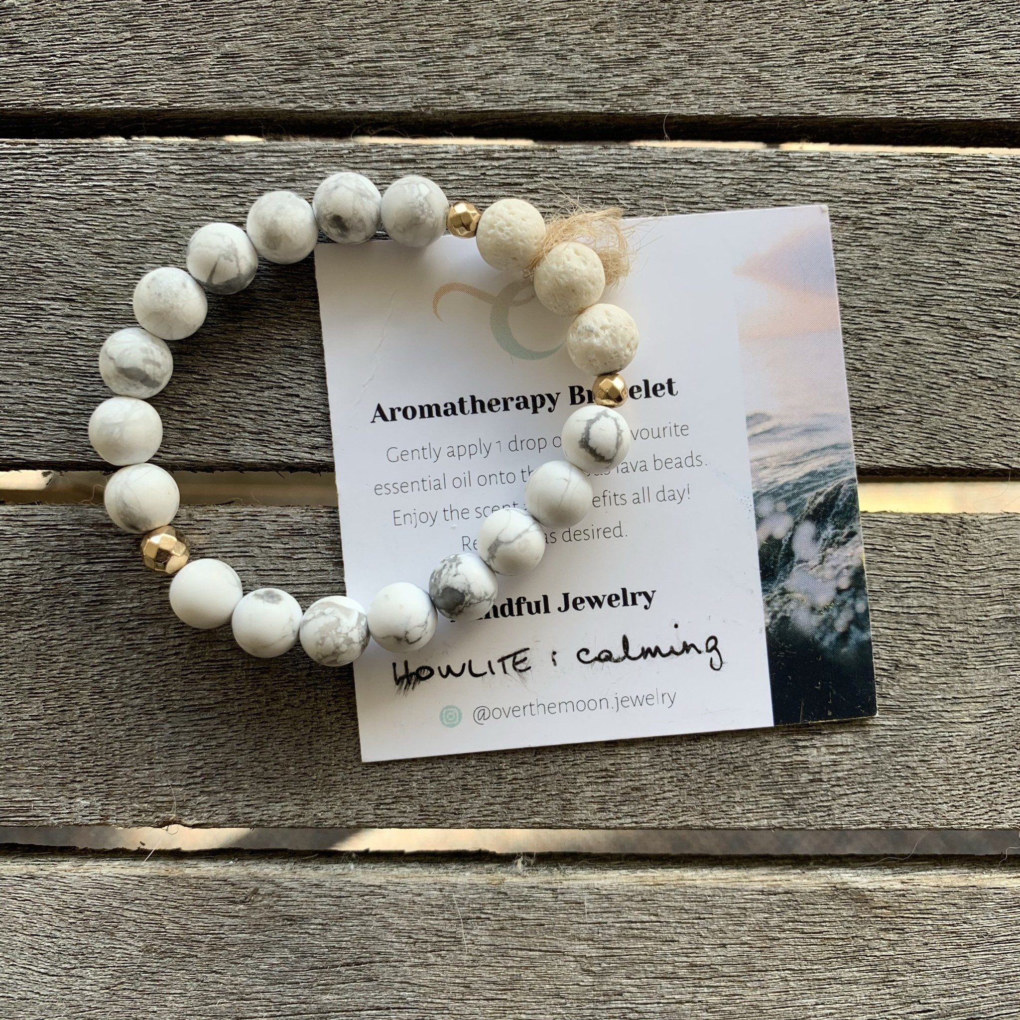 Over The Moon Over The Moon - Calming 8mm Bracelet