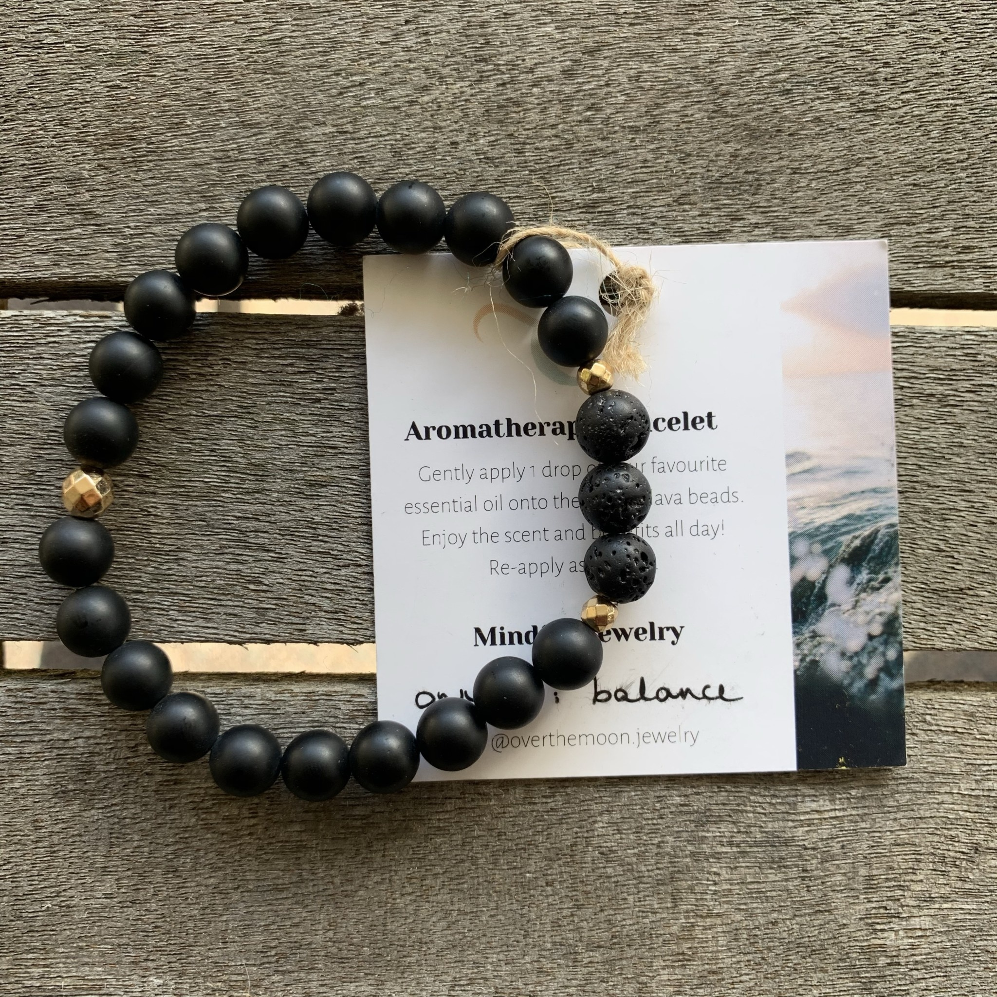 Over The Moon Over The Moon - Balance 8mm Bracelet