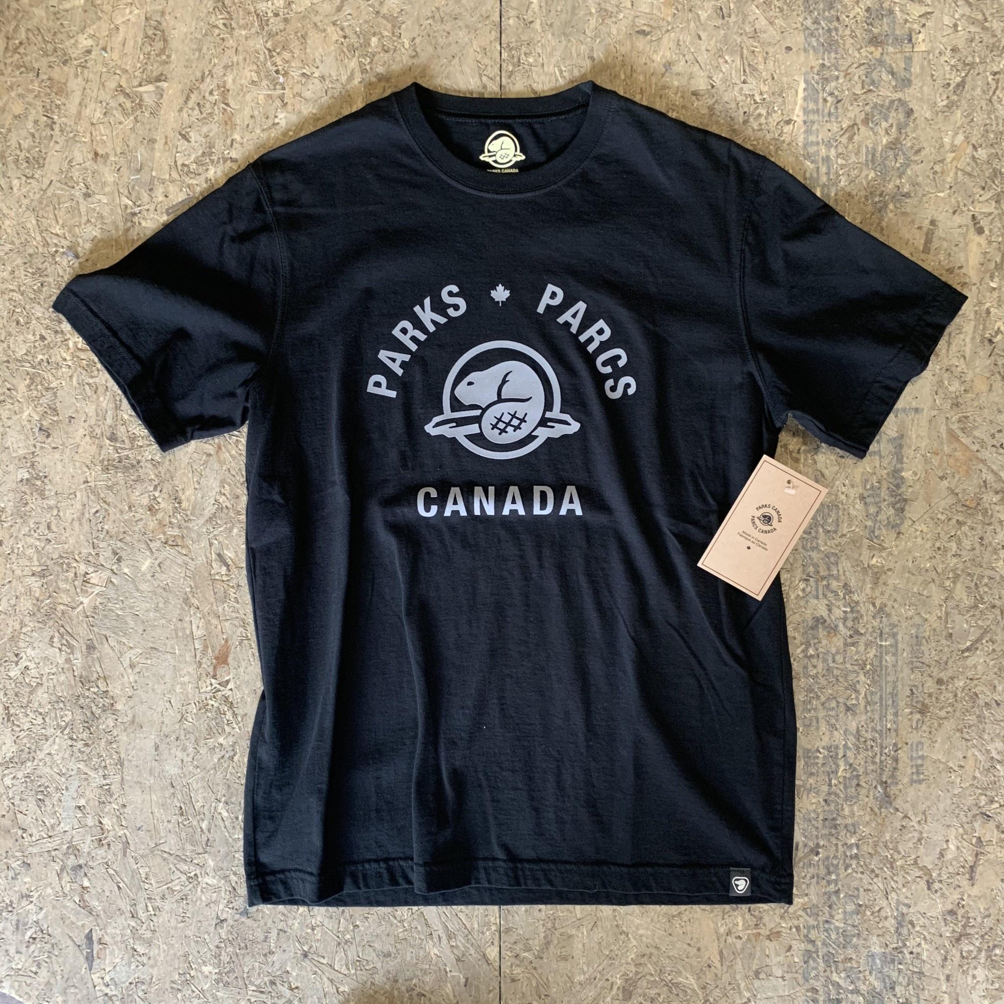 Parks Canada ParksCanada - Essential Tee - Blk - XL