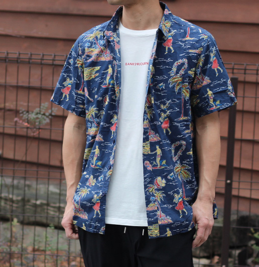 Banks Journal Banks Journal - Keikei S/S Button Up