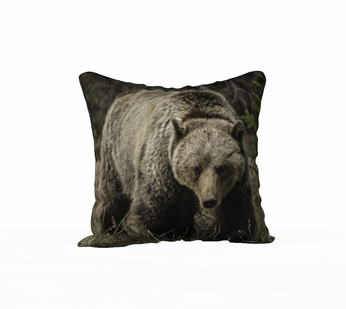 Back To Nature Back To Nature - Grizzly Pillow Case