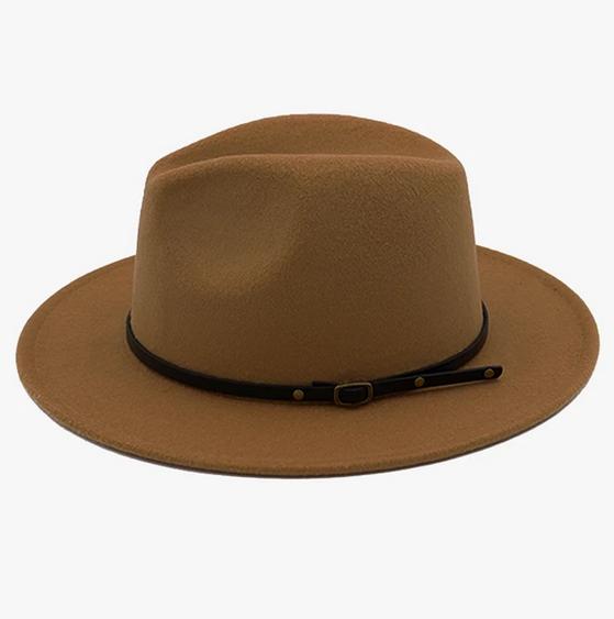 Wild Outdoors Club Wild Outdoors Club - Expedition Felt Brim Hat - Dusty Brown
