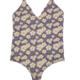 Mai Underwear Mai - Bodysuit - Navy Hibiscus