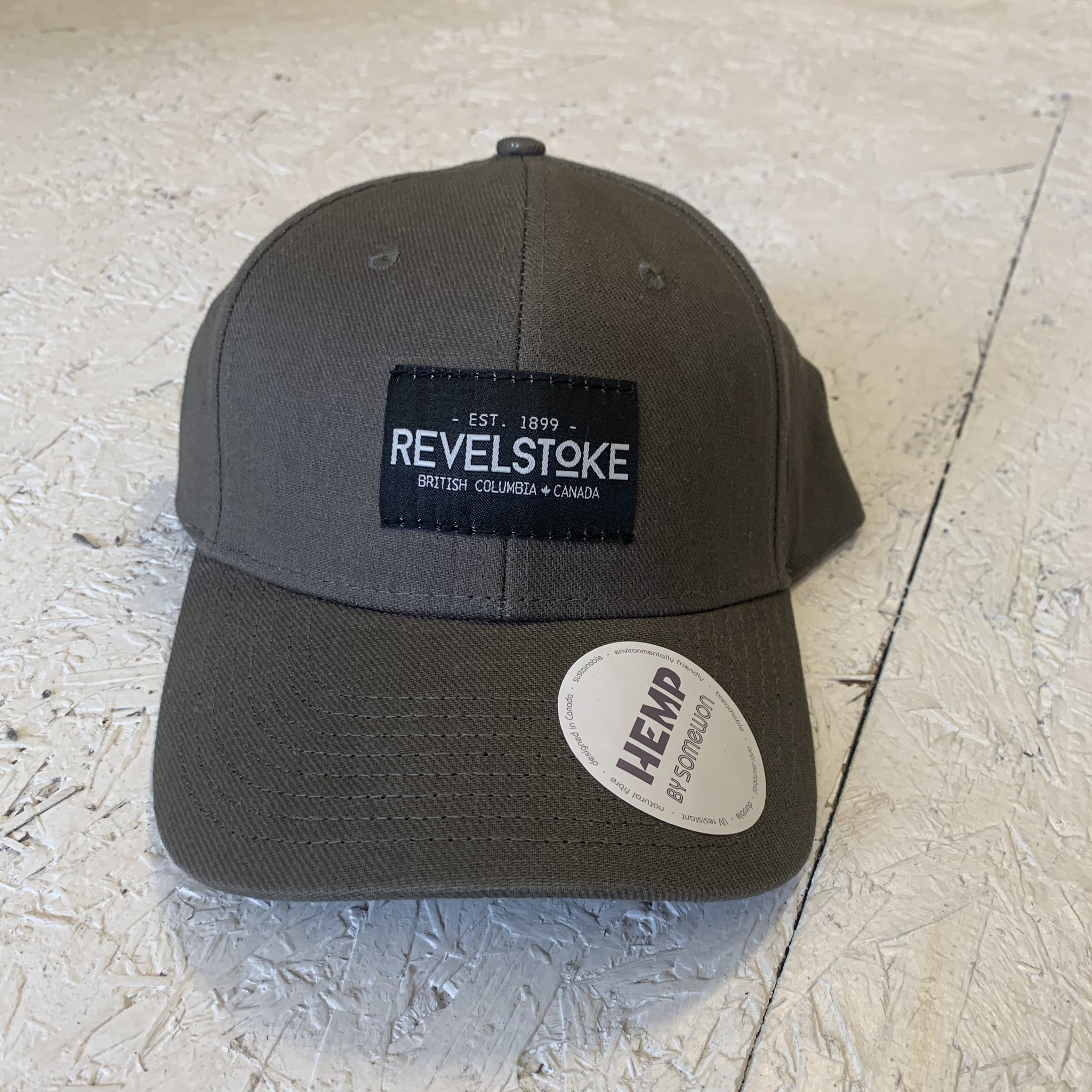 Revelstoke Trading Post Revelstoke - Trading Co Hemp Curve Brim Cap - Olive