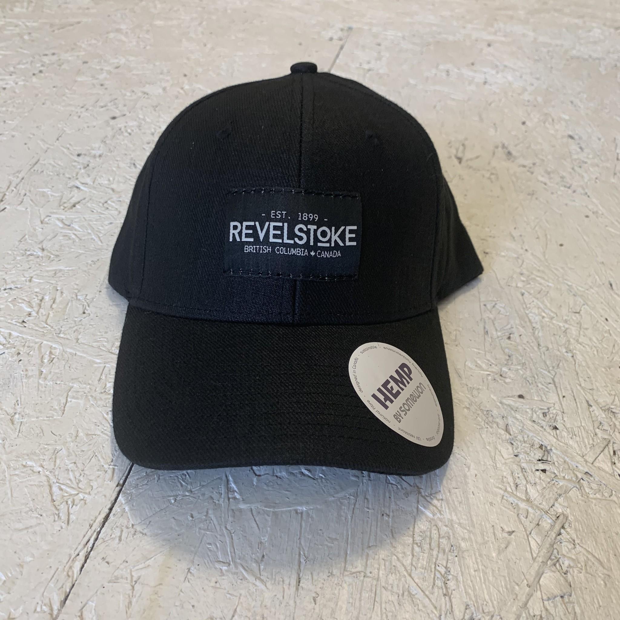 Revelstoke Trading Post Revelstoke - Trading Co Hemp Curve Brim Cap - Black
