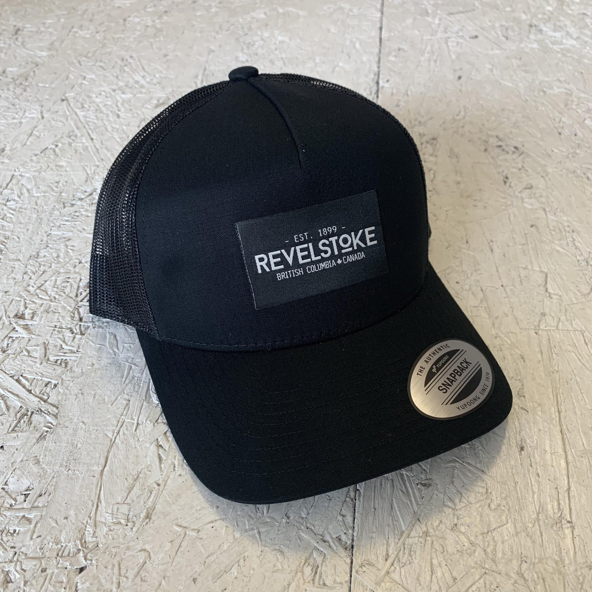 Revelstoke Trading Post Revelstoke - Trading Co Curve Trucker - Black