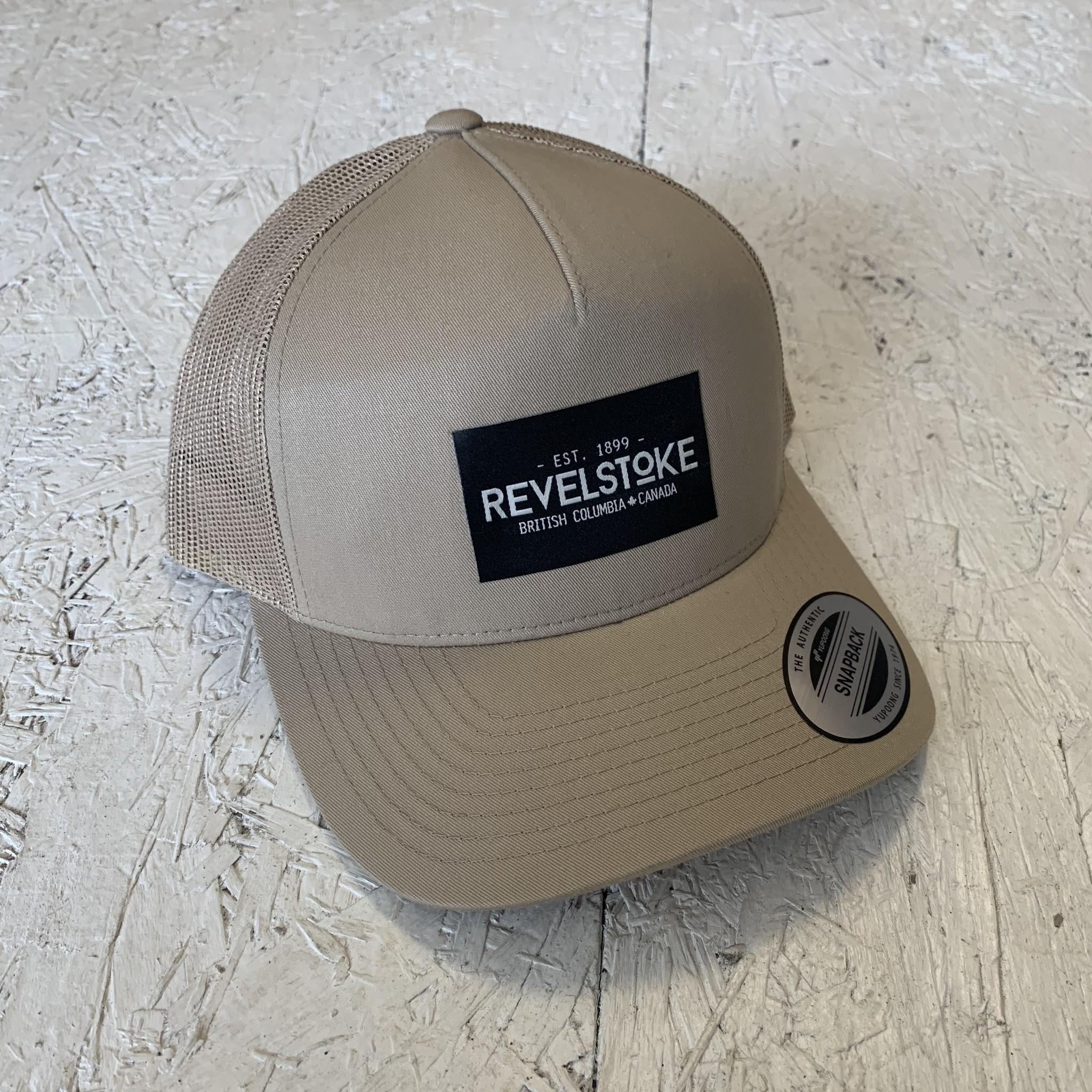 Revelstoke Trading Post Revelstoke - Trading Co Curve Trucker - Khaki
