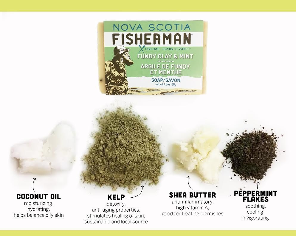 Nova Scotia Fisherman Nova Scotia Fisherman - Clay & Mint Body Wash