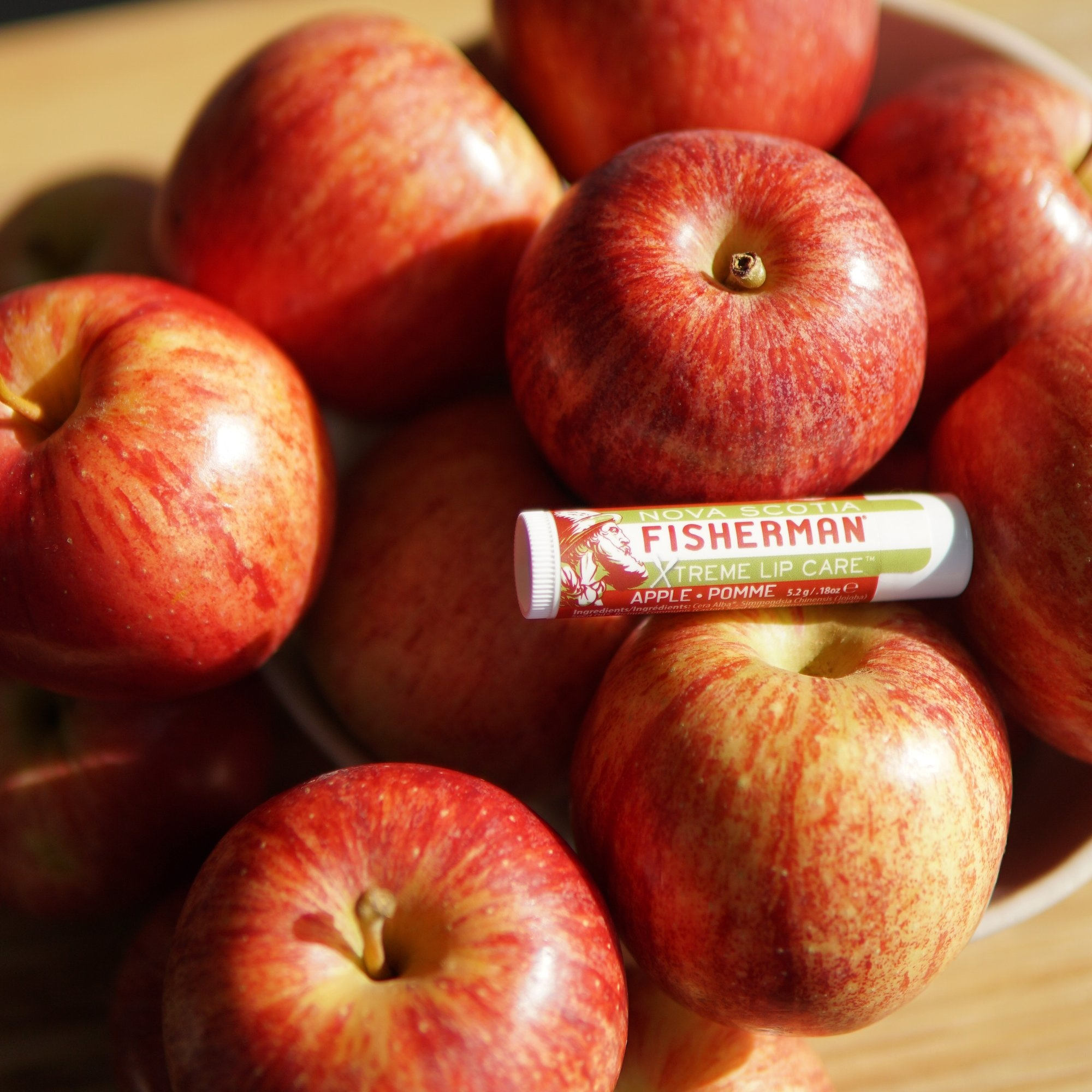 Nova Scotia Fisherman Nova Scotia Fisherman - Apple Lip Care 2-Pack