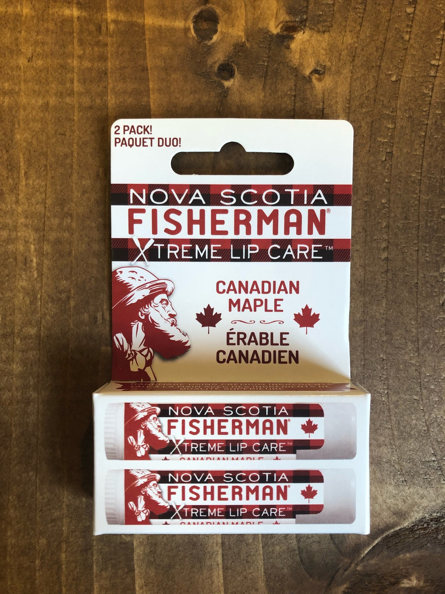 Nova Scotia Fisherman Nova Scotia Fisherman - Maple Lip Care 2-Pack