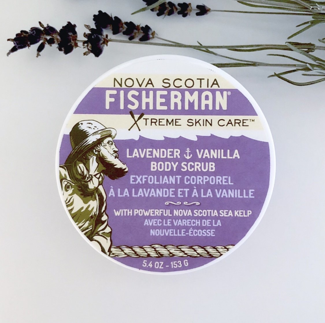 Nova Scotia Fisherman Nova Scotia Fisherman - Lavender&Vanilla Body Scrub 5.40z