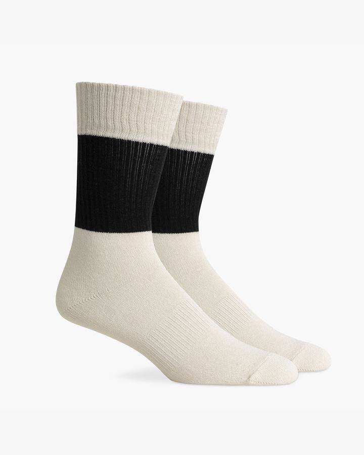 RicherPoorer RicherPoorer - Rigby Sock (Black/White)