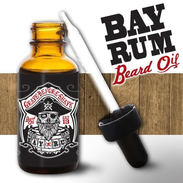 Grave Before Shave Grave Before Shave - Bay Rum Beard Oil