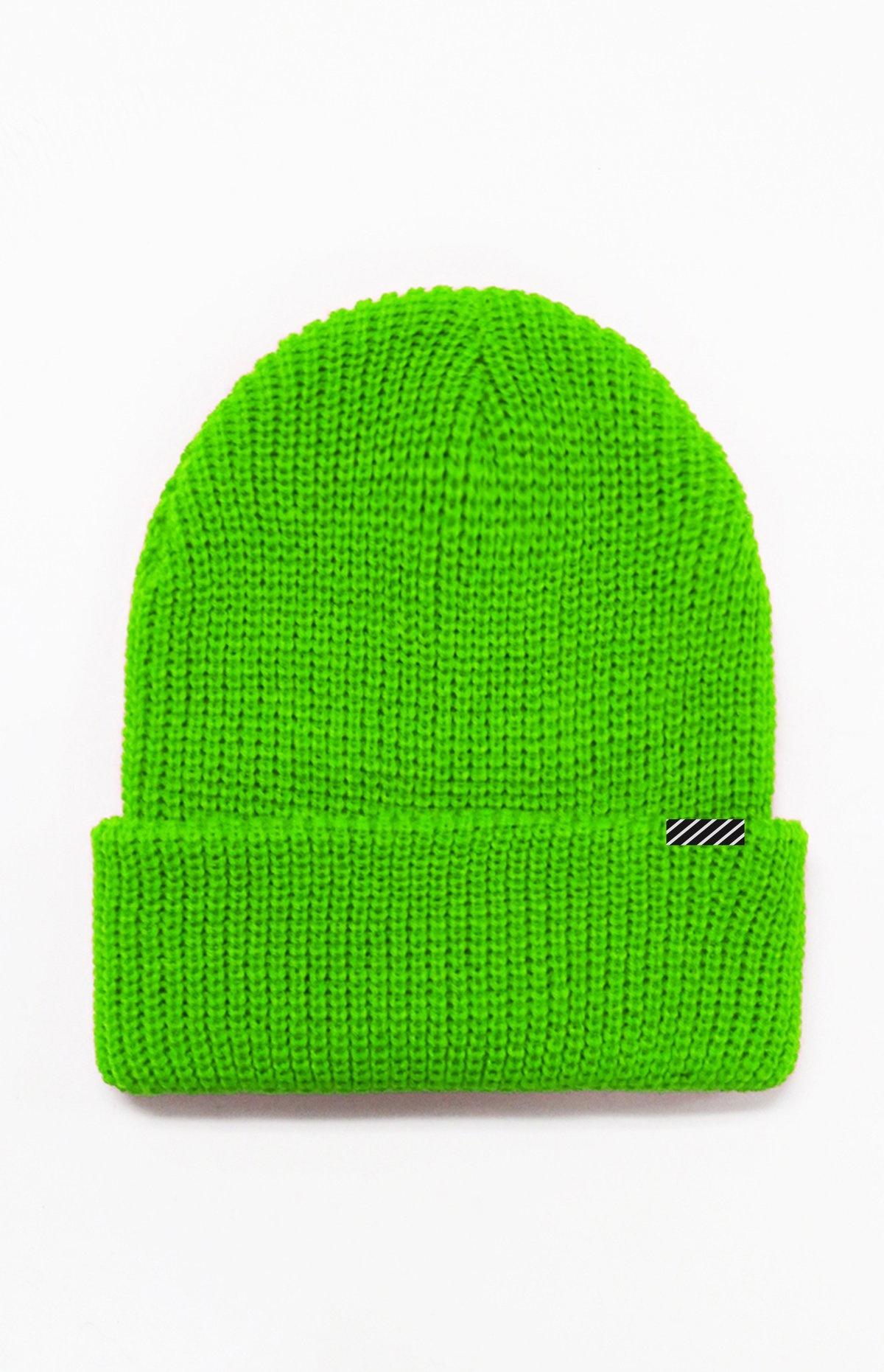 Lira Lira - Carson Beanie - Neon Green