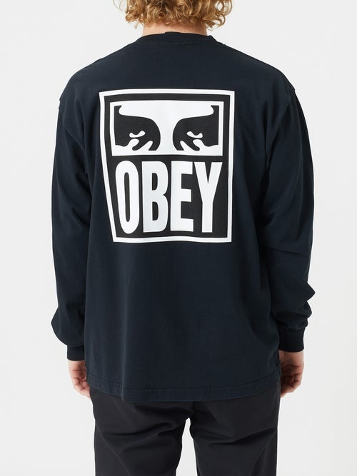 Obey Obey - Eyes Icon Heavyweight LS Tee