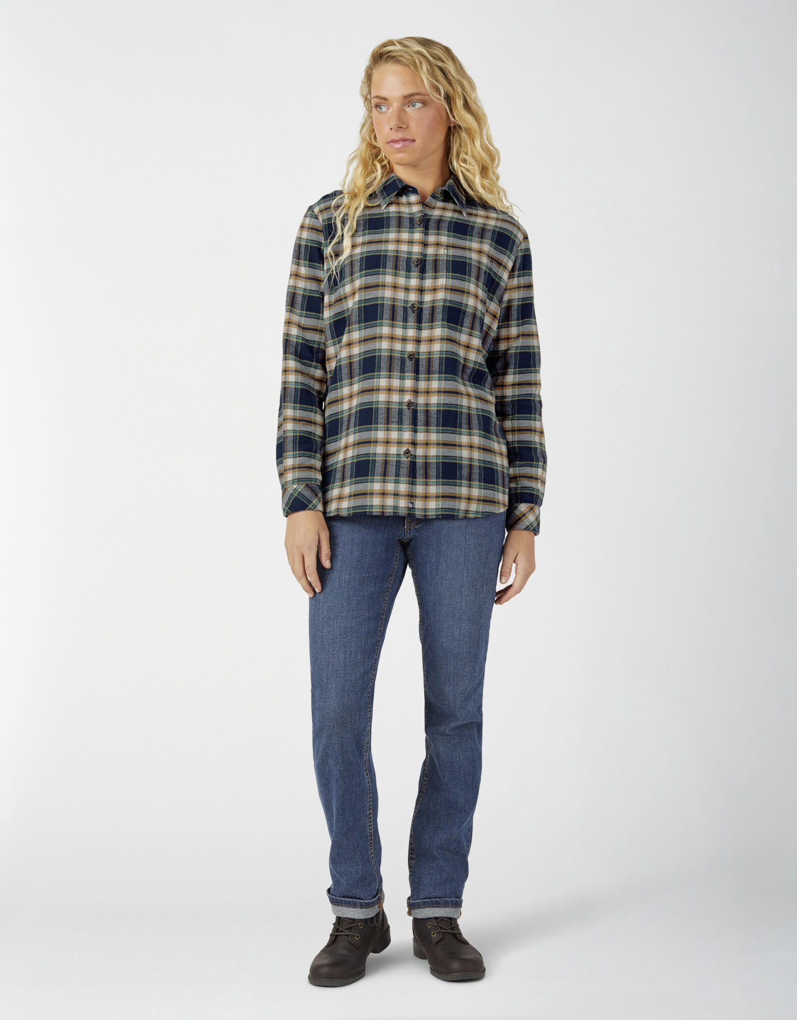 Dickies Dickies - Ladies Long Sleeve Flannel