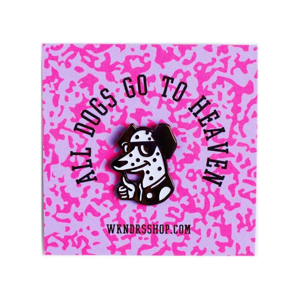 WKNDRS WKNDRS - All Dogs Pin